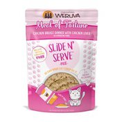 Weruva Slide N' Serve Paté Wet Cat Food Meal Of Fortune Chicken Breast Dinner With Liver