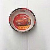 Zak! Disney Pixar Cars 3 Lightning Mcqueen Kids Red Cereal Bowl