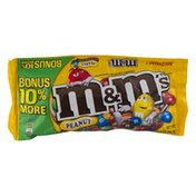M&M's Peanut Chocolate Candies Medium Bag