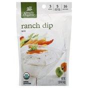 Simply Organic Ranch Dip Mix