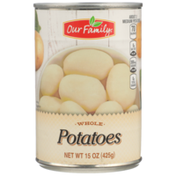 Our Family Whole Potatoes