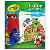 Crayola Color & Sticker, Disney Pixar Finding Dory