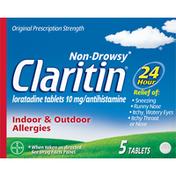 Claritin 24 Hour Non-Drowsy Allergy Tablets