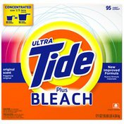 Tide Ultra Plus Bleach Alternative Powder Original Scent Laundry Detergent