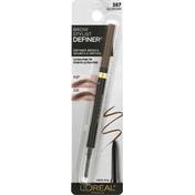 L'Oreal Eyebrow Pencil, Ash Brown 387