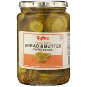 Hy-Vee Bread & Butter Sweet Slices