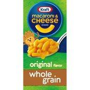 Kraft Original Macaroni & Cheese Dinner with Whole Grain Pasta