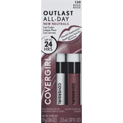 CoverGirl Lip Color with Topcoat, Rosie 130