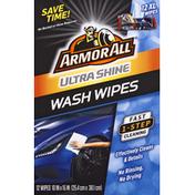 Armor All Wash Wipes, Ultra Shine, XL