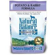 Natural Balance Potato & Rabbit Formula Dog Food