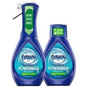 Dawn Platinum Powerwash Dish Spray, Dish Soap, Apple Scent Bundle