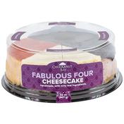 Chuckanut Bay Foods Fabulous Four Assorted Cheesecake