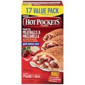 Hot Pockets Meatballs & Mozzarella Frozen Sandwiches