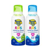 Banana Boat Kids Mineral Sunscreen Foam With Spf 50