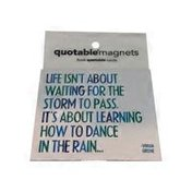 Quotable Cards & Magnets Universal Life Is Short Quotable Magnet