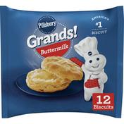 Gardetto's Grands! Buttermilk Breakfast Biscuits Frozen Dough, 12 Count