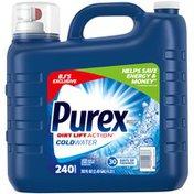 Purex Liquid Laundry Detergent, Coldwater, 240 Loads