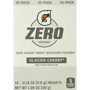 Gatorade Glacier Cherry Zero Sugar Thirst Quencher Powder