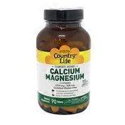 Country Life Calcium-Magnesium Complex 1000 mg