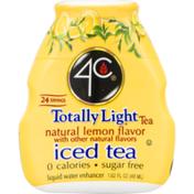 4C Foods Totally Light Tea Natural Lemon Flavor Liquid Water Enhancer