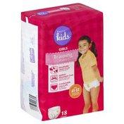 Basics For Kids Training Pants, Girls, Size 4T-5T (38 lb & Over)