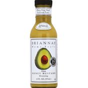 Brianna's Dressing, Home Style, Dijon Honey Mustard