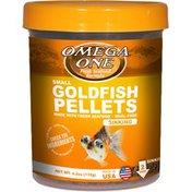 Omega One Goldfish Small Sinking Pellets