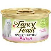 Fancy Feast Kitten Tender Turkey Feast Canned Wet Cat Food