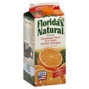 Florida's Natural Orange Juice, with Pulp, Home Squeezed Style