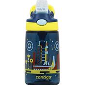 Contigo Water Bottle, Gizmo Flip, Nautical, 14 Ounce