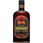 Kahlua Midnight with Black Coffee Liqueur Rum