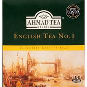 Ahmad Tea Tea, English, No.1. Tea Bags