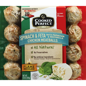 Cooked Perfect Meatballs, Chicken