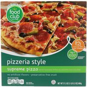 Food Club Pizzeria Style Supreme Pizza