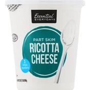 Essential Everyday Ricotta Cheese, Part Skim