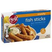 Big Y Crunchy Fish Sticks