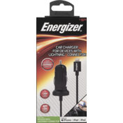 Energizer Car Charger, Pre-Priced $19.99, Box