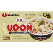 Nongshim Noodle Soup, Premium, Udon