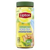 Lipton Iced Tea Mix Unsweetened Decaf