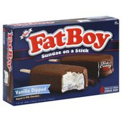 Fat Boy Sundae on a Stick, Vanilla Dipped