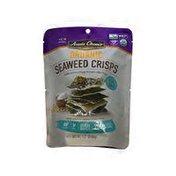Annie Chuns SEA SALT ORGANIC SEAWEED CRISPS With extra crispy brown rice chips