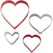 Wilton Nesting Heart Cookie Cutter Set, 4-Piece