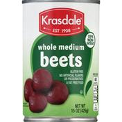 Krasdale Beets, Whole Medium