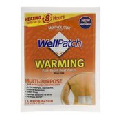 Wellpatch Warming Pain Relief Heat Patch Large