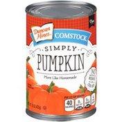 Duncan Hines Comstock Pumpkin Pie Filling
