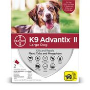 Bayer K9 Advantix II Topical Large Dog Flea & Tick Treatment
