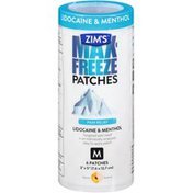 Zim's Max-Freeze Patches M Pain Relief