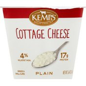 Kemps Cottage Cheese, Small Curd, 4% Milk Fat, 17 g Protein, Plain