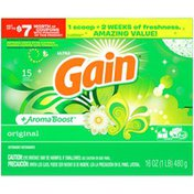 Gain Powder Laundry Detergent for Regular and HE Washers, Original Scent Gain Powder Laundry Detergent for Regular and HE Washers, Original Scent
