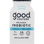 Good Culture Probiotic Beverage, Wellness, Vanilla + Collagen